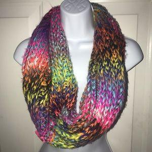Betsey Johnson Rainbow Sequin Infinity Scarf